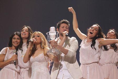 Победители Евровидения-2011. Ell and Nikki.