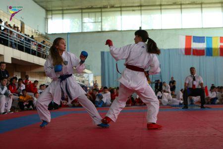 Международный турнир по каратэ в Киеве.
