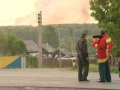 Взрывы на военном складе в Удмуртии
