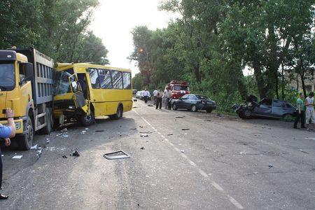 Авария в Харцызске