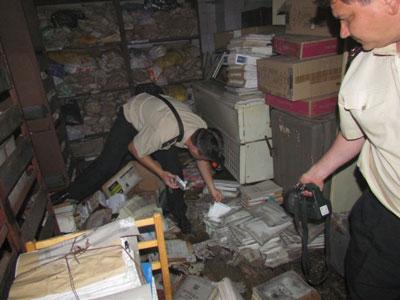 В Мариуполе сгорел архив Теплосети