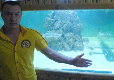 Акулы у нас хоть и небольшие, но очень симпатичные, - уверяет Сергей Перфильев.