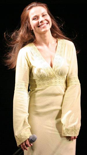 Екатерина Гусева на донецкой сцене.