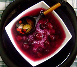 Суп из вишен