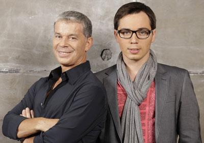 Олег и Родион Газмановы - больше друзья, чем отец и сын, в один месяц отметили юбилеи. Только с разницей в тридцать лет.