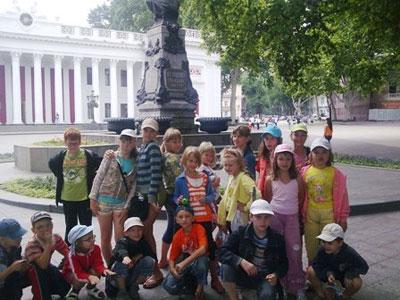 Дети в Горловке
