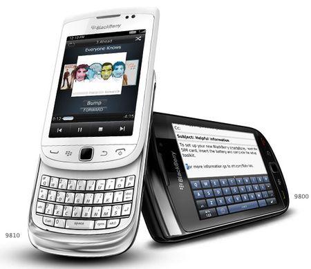BlackBerry Torch 9810/9800