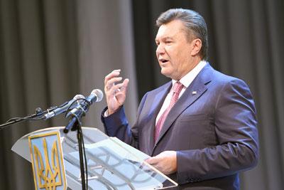 Приезд Виктора Януковича в Донецк