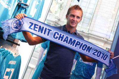 Доменико Кришито стал единственным приобретением Зенита в летнее межсезонье.