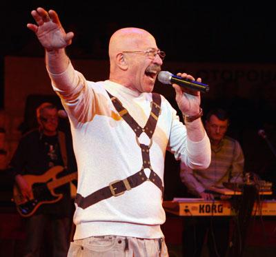 Александр Розенбаум на сцене донецкого цирка с юбилейной программой Концерт длиною в жизнь! 18 марта 2011 г.