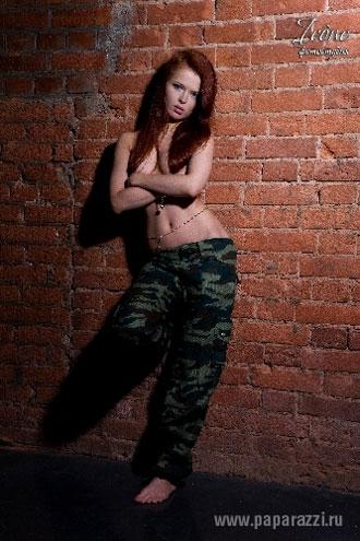Эротическая фотосессия Лены Князевой попала в Интернет!