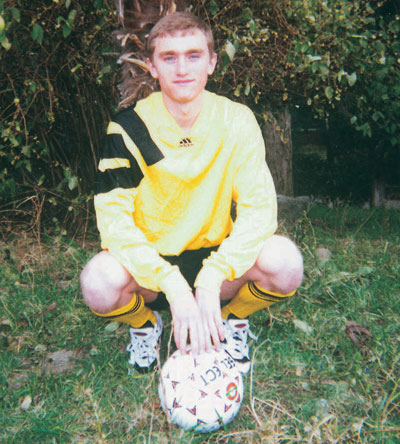 Андрей Воробей внес вклад в спортивный имидж лицея - и его учителя полюбили футбол!