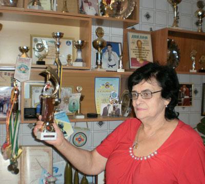 Директор Донецкого лицея № 71 Жанна Герасимова: Эту награду завоевали наши регбисты.