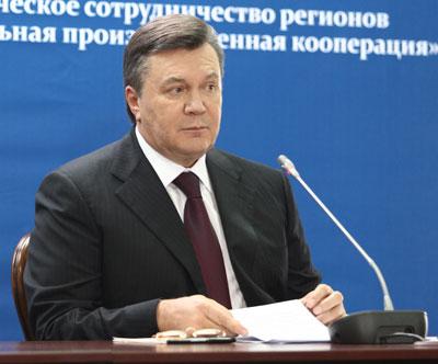 Виктор Янукович: Хочется верить, что в самое ближайшее время мы расставим все точки над i.