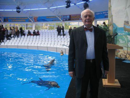 Профессор Чуприков назвал Центр дельфинотерапии культурно-образовательным центром.