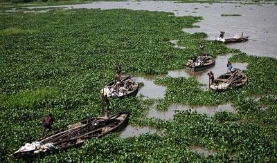 Глобальное изменение климата шагает по планете. В Нигерии, которая раньше страдала от засухи, теперь наводнение.