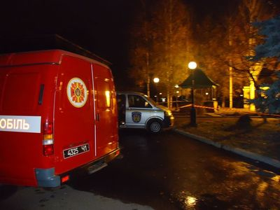 спасатели на месте взрыва