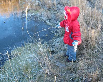В воскресенье Донецкую область накрыли первые морозы.