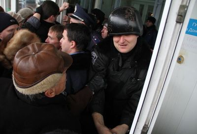 штурм в Донецке
