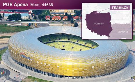 стадион в Гданьске