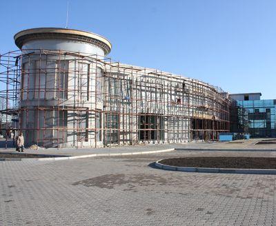 автостанция на железнодорожном вокзале Донецка