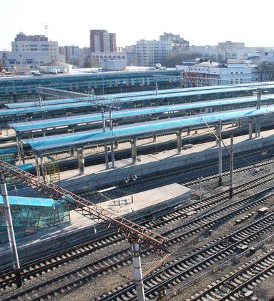 платформы Донецкого жд вокзала