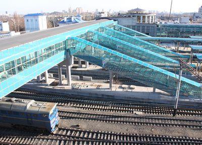 пригородный конкорс - Донецкий железнодорожный вокзал