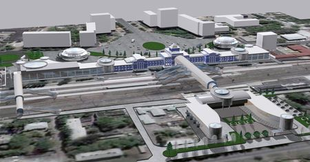 проект реконструкции Донецкого железнодорожного вокзала