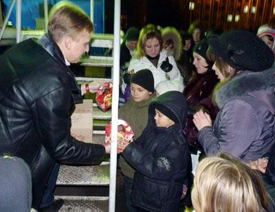 Новогодняя елка в Славянске