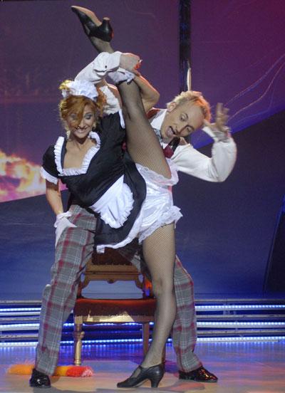 Танец страсти - Екатерина Бухтиярова и Сергей Змеек.