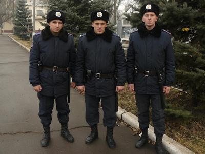МВД. Донецк