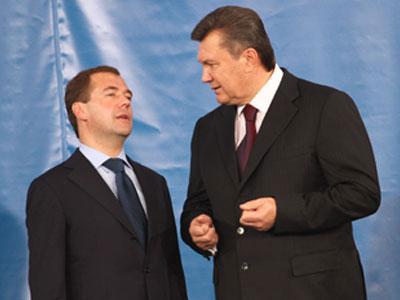 Октябрь.  Донецк принял российского президента Дмитрия Медведева