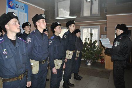 Внутренние войска МВД встретили Новый год.
