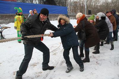 морозостойкие дончане в выходные отправились на зимние гулянья в парк Щербакова.