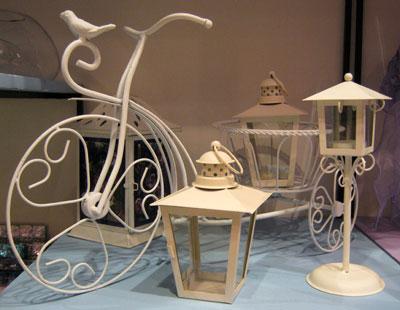 Подарок ко Дню Святого Валентина. Фонарь-подсвечник и велосипед-кашпо. Необычно и эстетично.