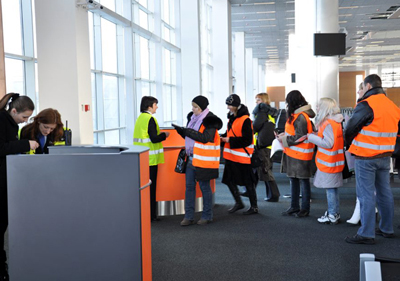Донецкий терминал впервые протестировали