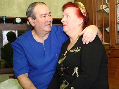 Для Нели Шульдешовой ее муж Евгений - самый любимый Доктор!