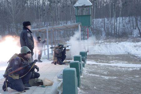 Сборы снайперов ВВ МВД