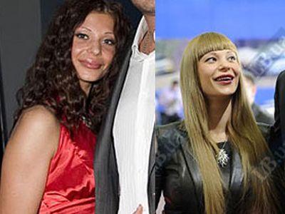 Невестка Януковича изменила внешность