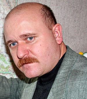 Начальник Краматорского городского управления по вопросам гражданской защиты населения Сергей Кукочка в недавнем прошлом - кадровый офицер, сейчас майор запаса.