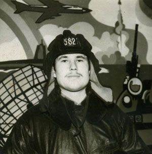 Командир машины боевой Юрий Середа