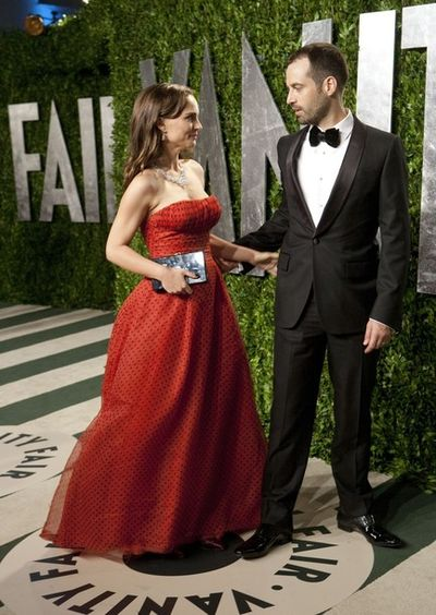 Натали Портман со своим мужем