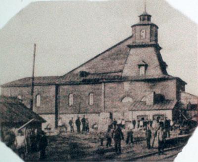 Шахта №31. Фото сделано в 1893 г.