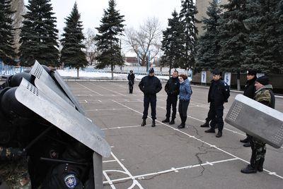 Французская полиция приехала в Донецк