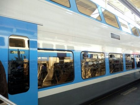 Кольцевой маршрут поездов