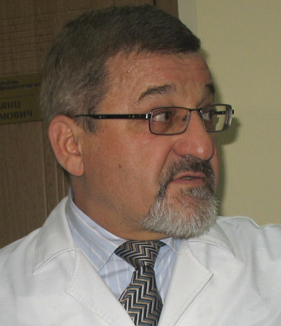 Главный нейрохирург Донецкой области, руководитель донецкого центра нейрохирургии Анатолий Кардаш