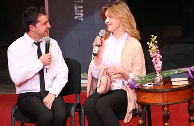 Супруги-правдолюбцы Владимир Зеленский и Елена Кравец убедили зрителей, что в семейной жизни иногда лучше немного приврать.