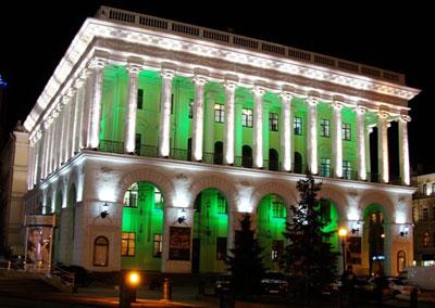 Концертный зал Национальной музыкальной академии Украины им. Чайковского оснастили светодиодным освещением.