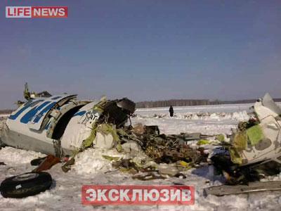 Авиакатастрофа под Тюменью