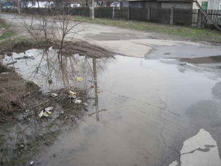 Авария водопровода в Мариуполе